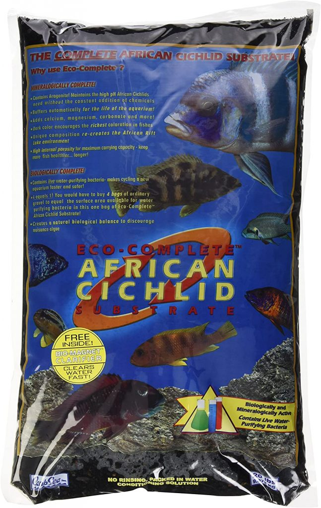 CaribSea Aquatics Eco-Complete African Cichlid Zack Sand